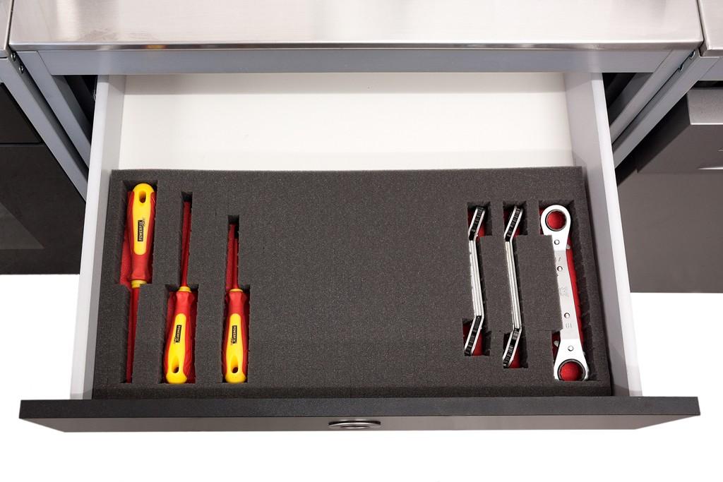 Shadowboard im (Ikea) Küchen-Schubfach // Werkzeugeinlage ...